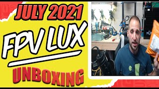 FPV LUX - July 2021 Unboxing - FPV T-Shirt Subscription & More!