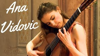 Ana Vidovic plays Asturias by Isaac Albéniz on a Jim Redgate classical guitar