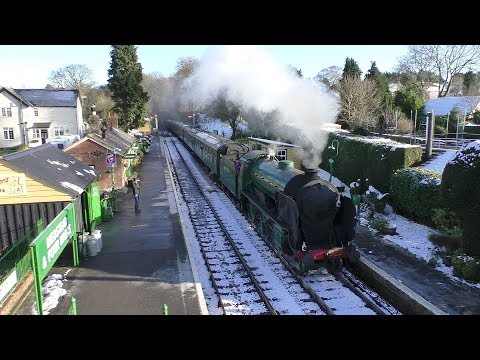 A trip on the Mid Hants Railway 28th December 2017