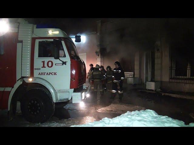 На пожаре в Ангарске погиби двое пенсионеров