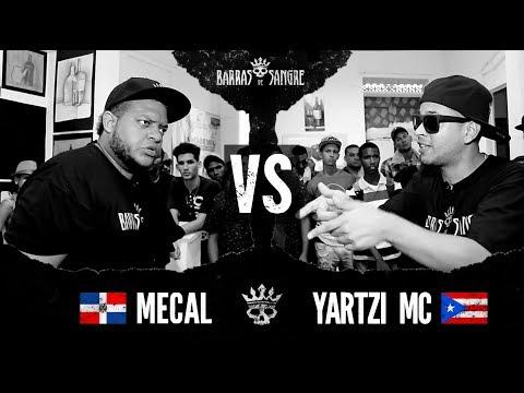 Barras De Sangre: Mecal 🇩🇴 vs Yartzi MC 🇵🇷 [ Batallas Escritas ]