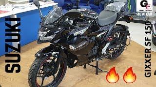 2019 Suzuki Gixxer SF 150 🔥   your next bike ???   features   review   specs   price !!!