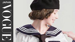 女子の学校制服、100年の歴史。| 100 Years of... | VOGUE JAPAN