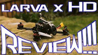 LARVA X HD - 3S, HD, Lock down Ripper! UK FPV VLog