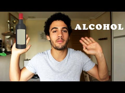 Donde ser cosido del alcohol