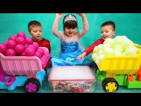 Baby balls  Magical Surprise Eggs Ball Pit Show for Kids toddlers children