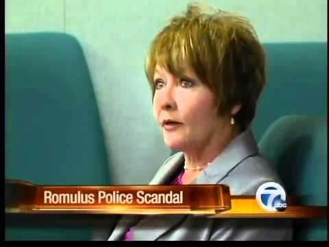 Secretary testifies in police scandal