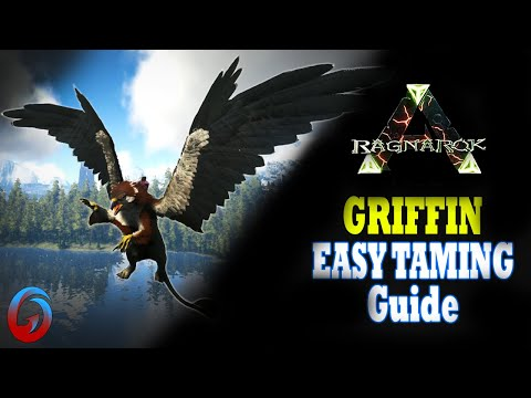 MAX LEVEL GRIFFIN TAMING! - Ark: RAGNAROK [DLC Gameplay