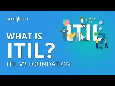 What Is ITIL | ITIL V3 Foundation | ITIL Basics | Simplilearn - YouTube
