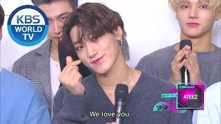 Interview With ATEEZ(에이티즈) [Music Bank  ENG  2019.10.11]