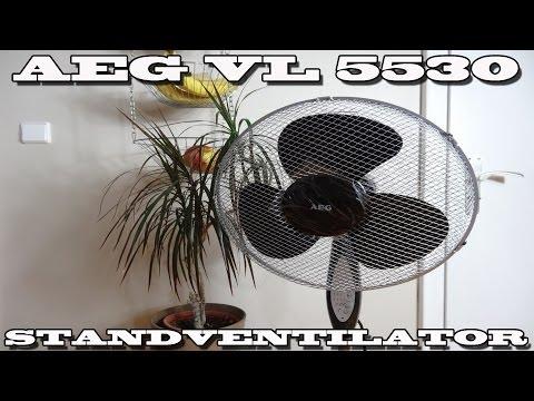 """""""AEG VL 5530 STANDVENTILATOR MIT TIMERFUNKTION"""" -Vorstellung"""