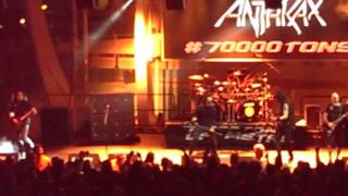 Anthrax - Aftershock - 70000 Tons of Metal 2017