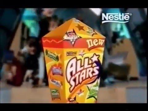 Nestle All Stars UK 2002 Advert