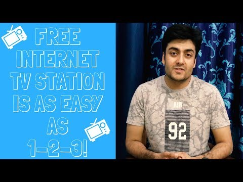 , title : 'How to make your own Internet TV Station for FREE