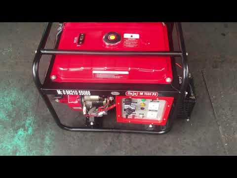 7.5 Kw bajaj-m self start Noise Version Open Petrol Genset