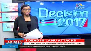 Why Lamu residents live in fear - VIDEO