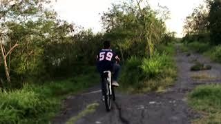 Reto - Bajando una pendiente de 45° en Bici!!!!