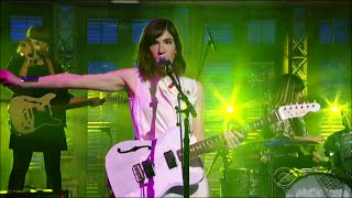 "[HD] Sleater Kinney   ""A New Wave"" 11515 David Letterman"