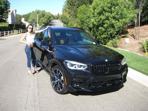 """2020 BMW X3 M Competition / Exhaust Sound / 21"""" M Wheels / 0 to 60MPH in 4 Sec. / BMW Review"""