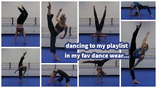 Dancing To My Playlist + Dancewear Haul!