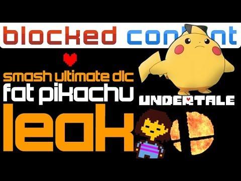 , title : 'RUMOR: Fat Pikachu LEAK Claims To Know 4TH SMASH DLC FIGHTER! - Smash Ultimate LEAK SPEAK!'