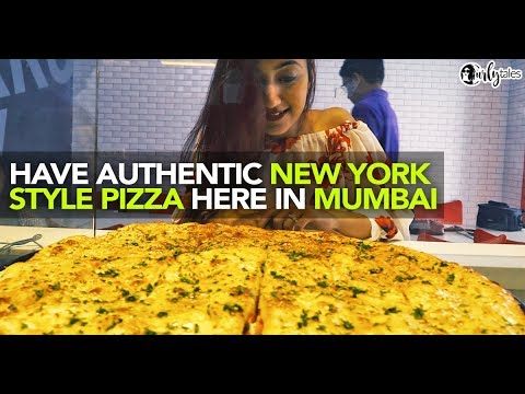 Authentic New York Style Pizza At Sbarro In India | Curly Tales