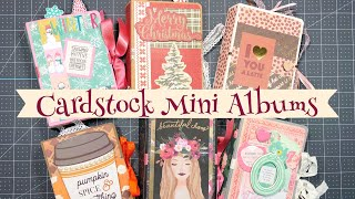 Craft Fair Idea #10:  Cardstock MINI ALBUMS | 2019