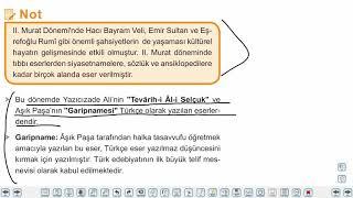 Eğitim Vadisi 10.Sınıf Tarih 11.Föy Beylikten Devlete Osmanlı Medeniyeti, Halk Kültürü Konu Anlatım Videoları