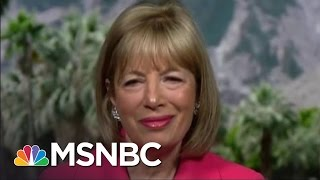 Representative Speier: Donald Trump Is 'Deranged' | Andrea Mitchell | MSNBC thumbnail