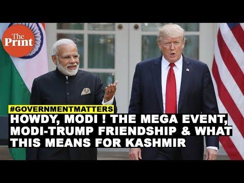 Howdy, Modi ! The mega event, Modi-Trump friendship & what this means for Kashmir