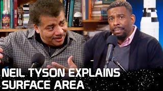 Neil deGrasse Tyson Explains Surface Area
