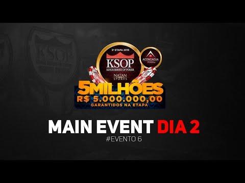 2019 - KSOP 5ª ETAPA RIO DE JANEIRO - MAIN EVENT - DIA 2