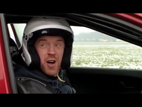 Homeland star Damien Lewis on the Top Gear track | Series 19 | Behind the scenes -Top Gear | BBC