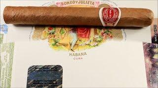 Romeo y Julieta Romeo No  2 Tubos JUN 2018 Cuban Cigar Unboxing