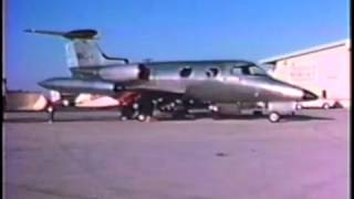Lear Jet Model 23 Test Flight