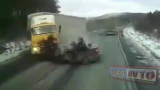 Жесткие аварии и ДТП 2017 № 14