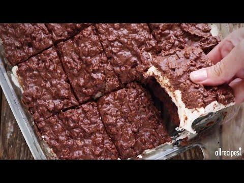 How to Make Brownie Mallow Bars | Dessert Recipes | Allrecipes.com