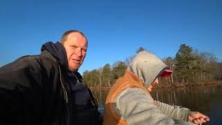 Ловля щуки в декабре на кружки