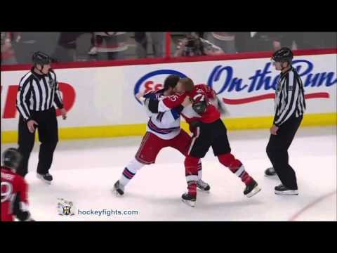 Chris Neil vs. Brandon Prust