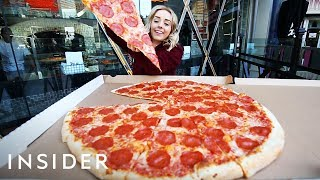 Download Youtube: Biggest Pizza in Las Vegas in 30 Inches