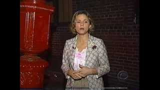 Amy Sedaris' 4am tour of Greenwich Village on The Late Show (2004)