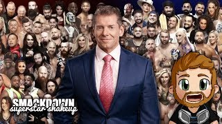 WWE SMACKDOWN SUPERSTAR SHAKEUP (2019) LIVE STREAM LIVE REACTIONS WATCH PARTY