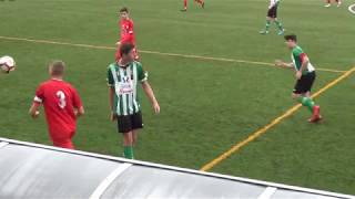 Federación Cántabra de Fútbol - Primera Cadete - Jornada 8: C.D. Colindres 1-5 C.D. Amistad Sniace.
