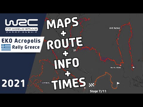 WRC 2021第9戦ラリー・ギリシャ ステージインフォメーション動画