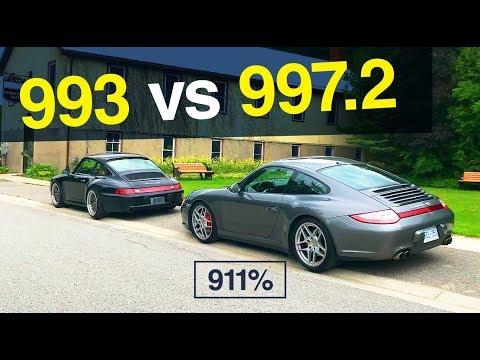 Porsche 993 vs 997 - Comparing my 911s    EP063