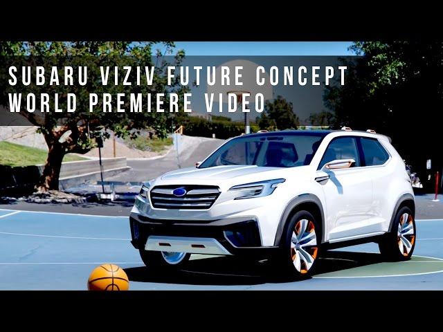 SUBARU / スバル VIZIV FUTURE CONCEPT World Premiere Video