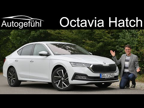 all-new Skoda Octavia Hatch FULL REVIEW 2021 Octavia Sedan Fastback - Autogefühl