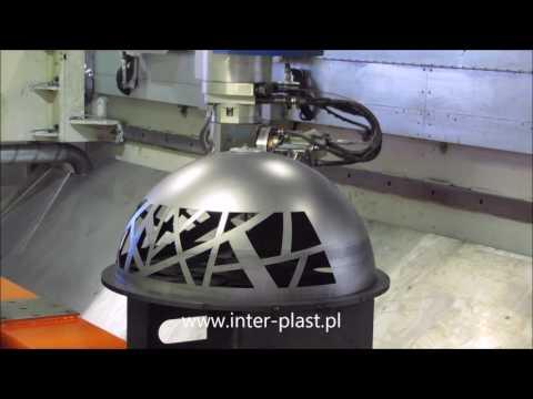 LASER TRUMPF 1005 CIĘCIE 3D - zdjęcie