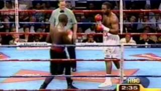 Hasim Rahman knocks out Lennox Lewis