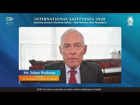 Speech by Mr Esben Poulsson, Chairman, The International Chamber of Shipping